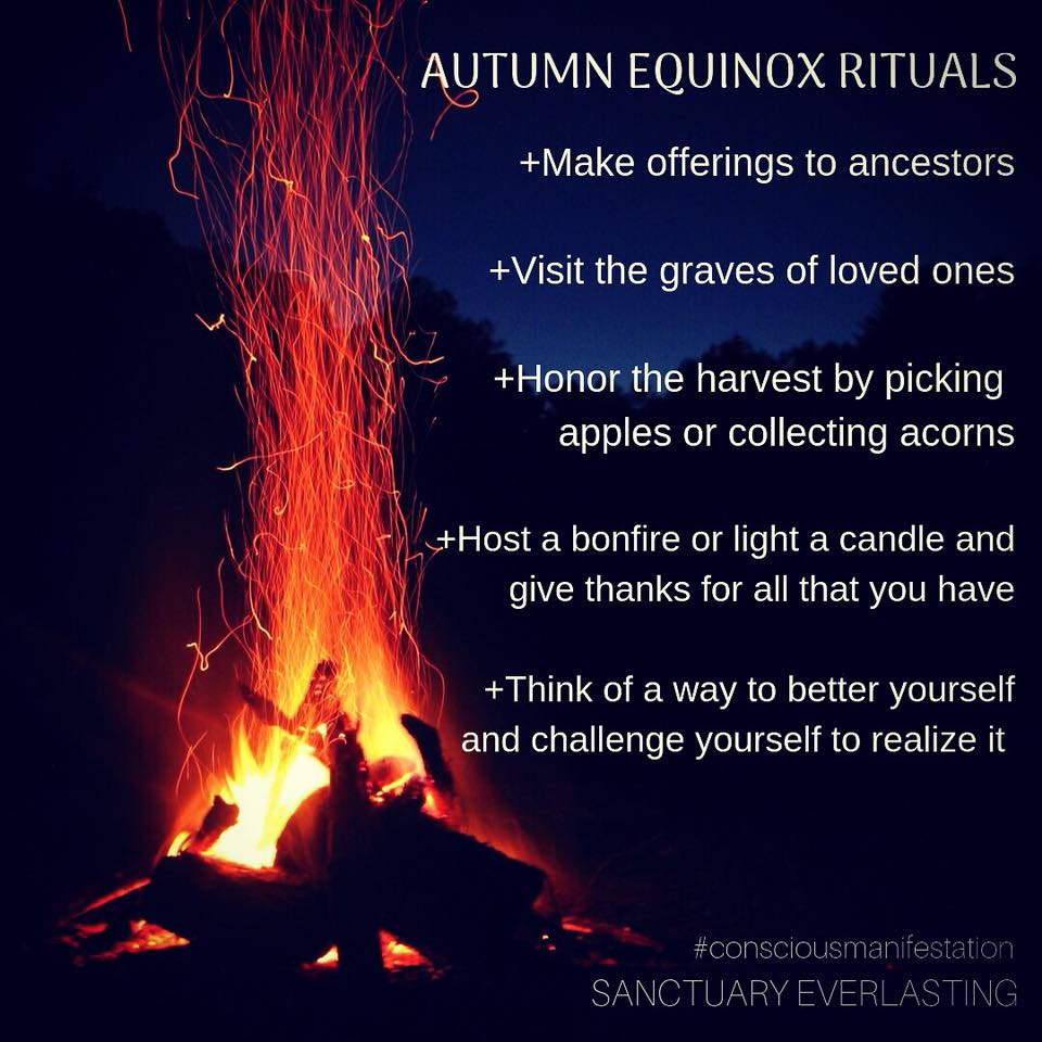 Autumn Equinox and Mabon Rituals and Meditation
