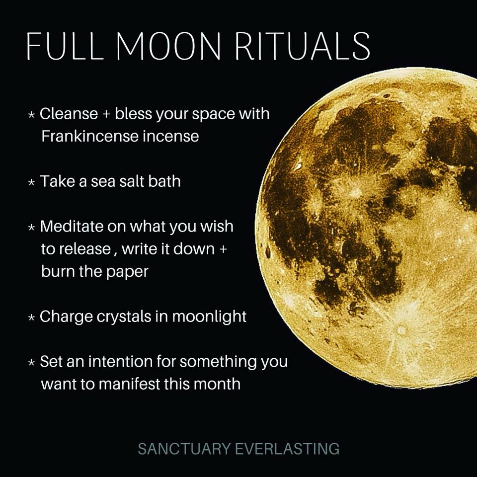 5 Full Moon Rituals