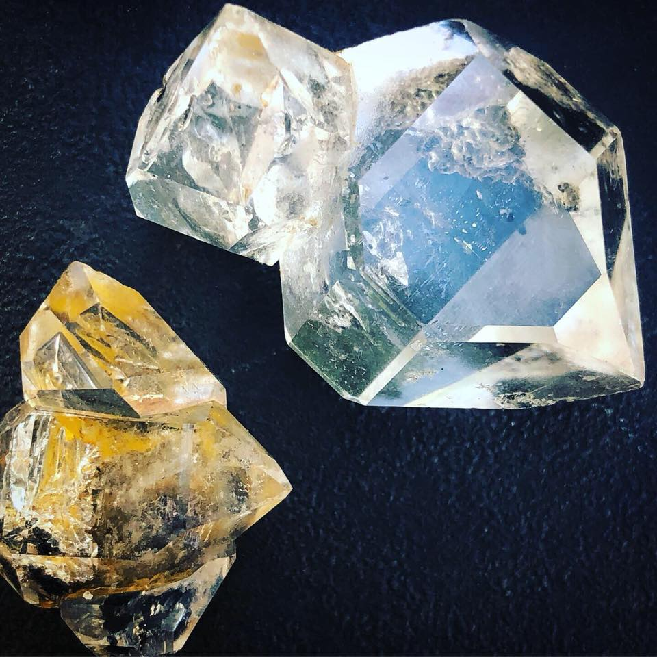 Metaphysical Meaning of Herkimer Diamonds
