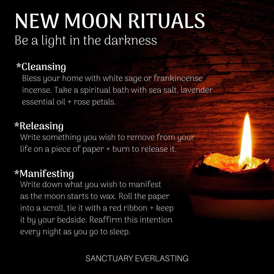 New Moon Rituals and Meditation