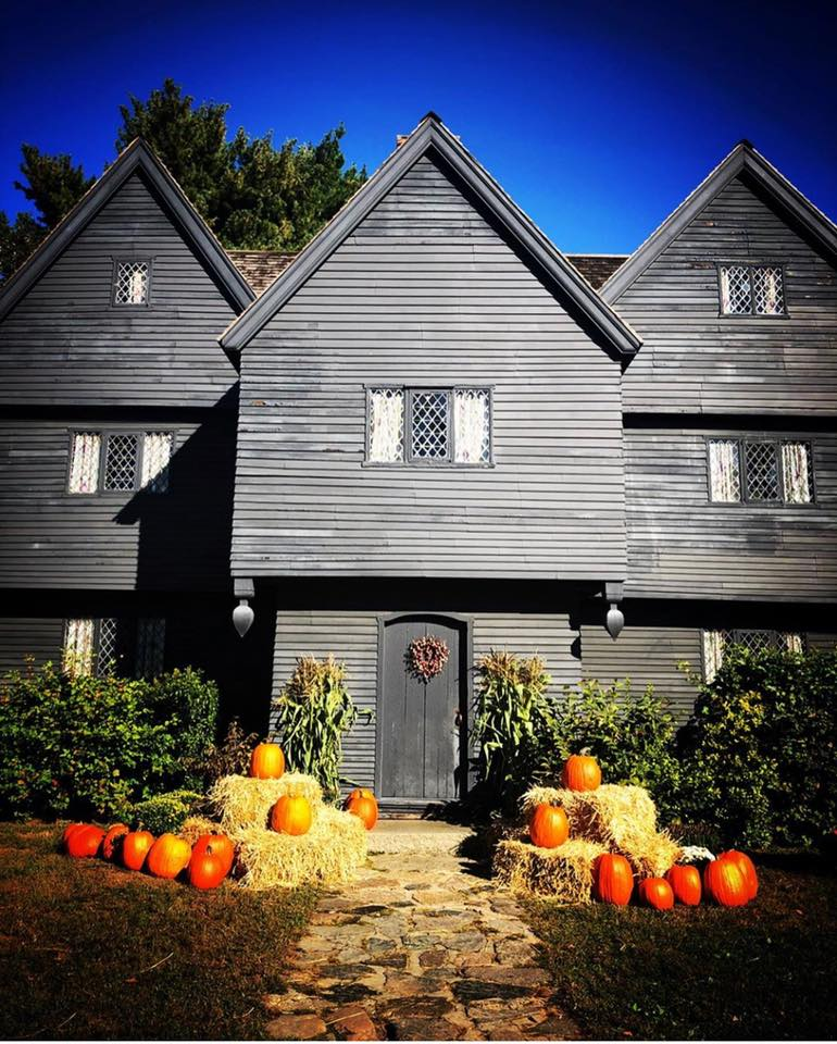 The Witch House in Salem Massachusetts