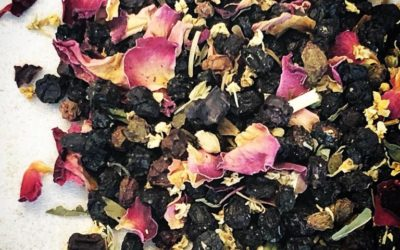 Elderberry Tea for Cold and Flu
